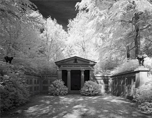 Friedhof Ohlsdorf - Grabmal von Ohlendorff