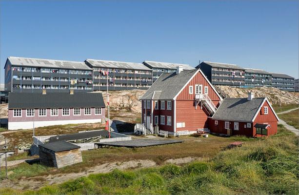 Ilulissat - alte und neue Häuser