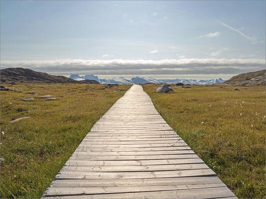 Ilulissat - Wanderweg zum Eisfjord
