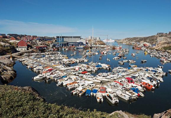 Ilulissat - Yachthafen