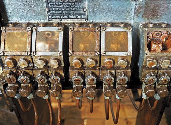 Ziegeleipark Mildenberg - Dampfmaschine Detail
