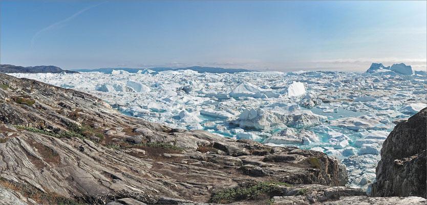 Ilulissat - Kangia Eisfjord Panorama