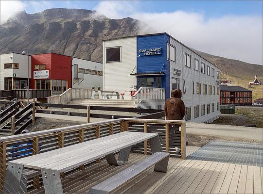 Longyearbyen - Svalbard Hotell Nebengebäude