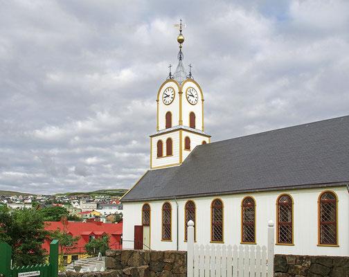 Färöer Tórshavn - Domkirche