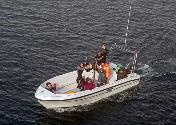 Qeqertarsuaq - Einheimische