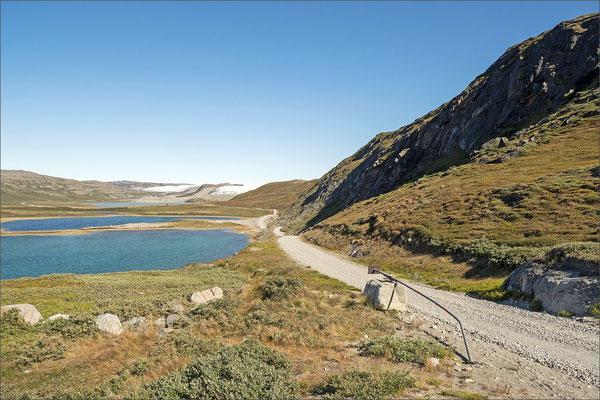 Kangerlussuaq Strasse zum Inlandseis