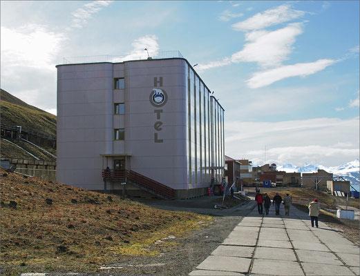 Spitzbergen - Barentsburg  - Hotel (2015)