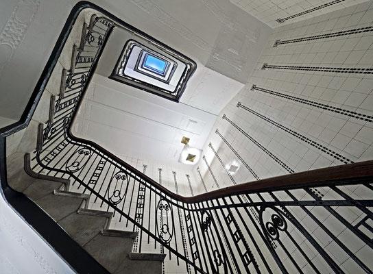 Hübner-Haus Treppenhaus