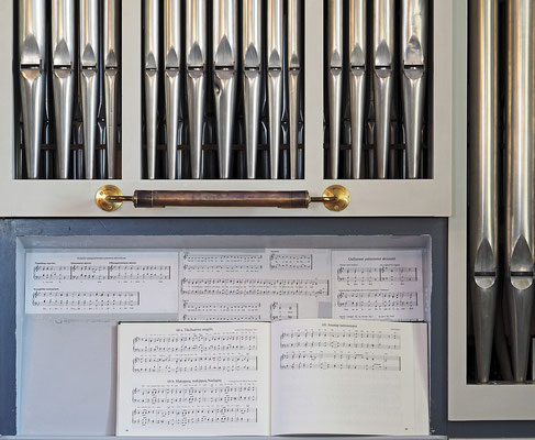 Nuuk Erlöserkirche Orgel