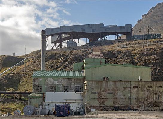 Longyearbyen - altes Kohlekraftwerk