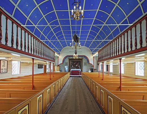 Färöer Tórshavn - Domkirche Innenraum