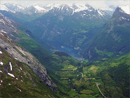 Norwegen Geiranger - Dalsnibba (2015)