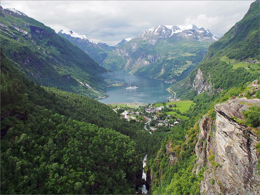 Norwegen Geiranger - Flydalsjuvet (2015)
