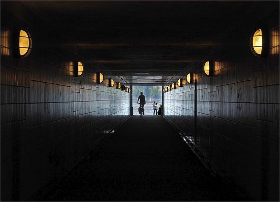 Tunnel Binnen- und Außenalster