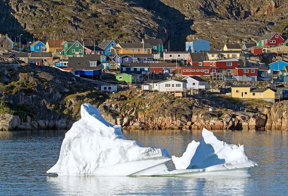 Kleiner Eisberg vor Ilulissat