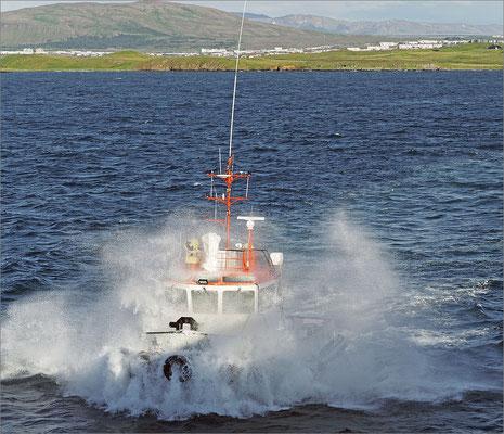 Island Reykjavik - Lotsenboot (2016)