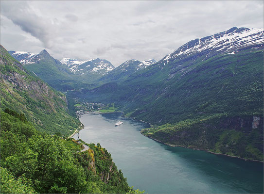 Norwegen Geiranger - Adlerkehre (2015)