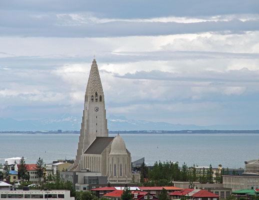 Island Reykjavík - Hallgrímskirkja (2015)