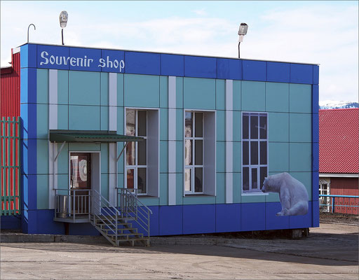 Spitzbergen - Barentsburg - Souvenir Shop (2015)