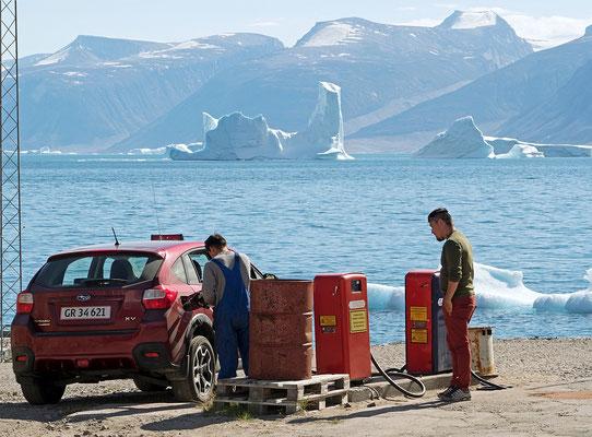 Uummannaq - Tankstelle