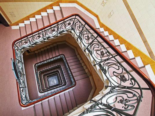 Alsterhaus Treppenhaus