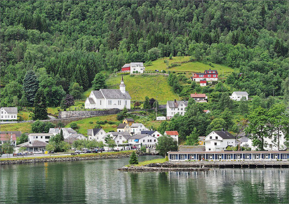 Norwegen Geirangerfjord - Hellesylt