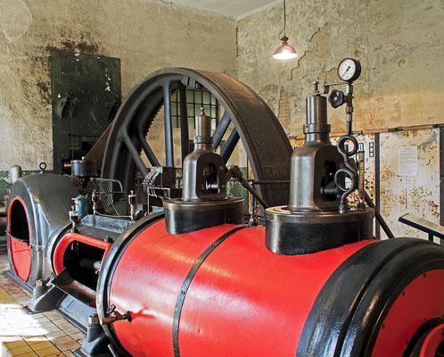 Ziegeleipark Mildenberg - Dampfmaschine