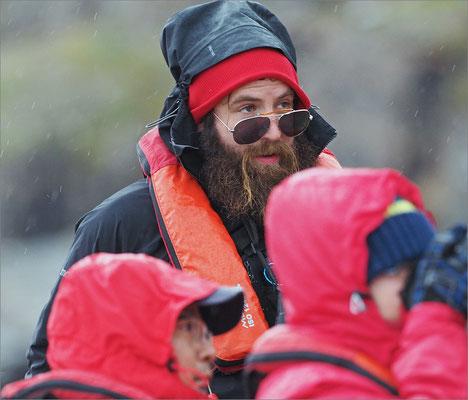 Kongsfjord Zodiac Guide Phil Norris