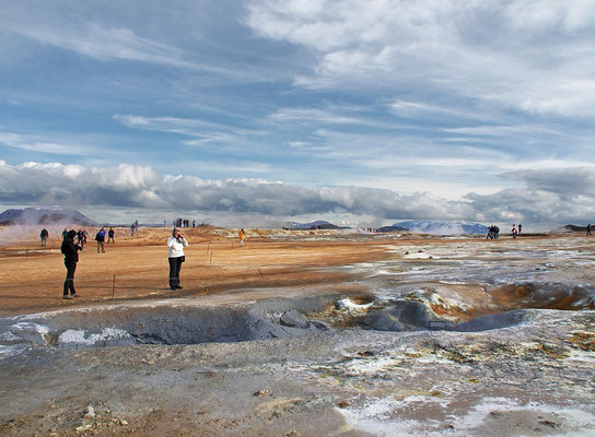 Island - Geothermalfeld Námaskarð (2015)