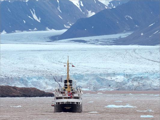 Kongsfjord Gletscher Nordstjernen