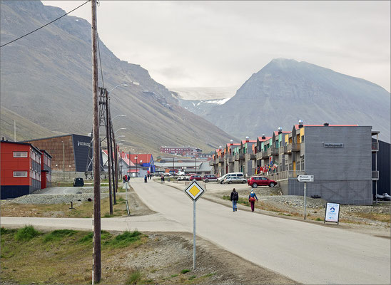 Longyearbyen - Stadtansicht