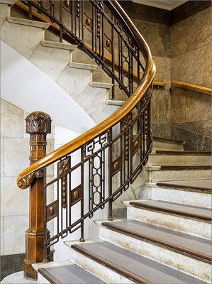 Kaisergalerie - altes Treppenhaus