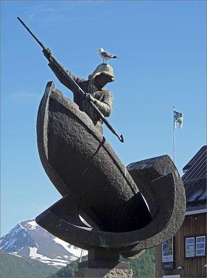 Norwegen Tromsø Walfängerdenkmal (2015)