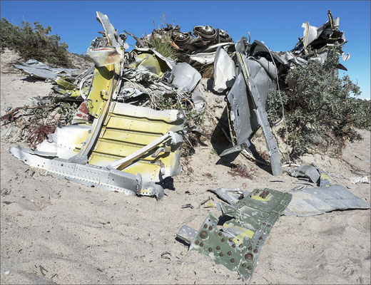 Kangerlussuaq Treibsandtal Flugzeugwrack