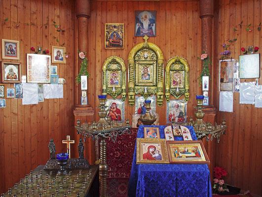 Spitzbergen Barentsburg - Orthodoxe Kapelle  (2015)