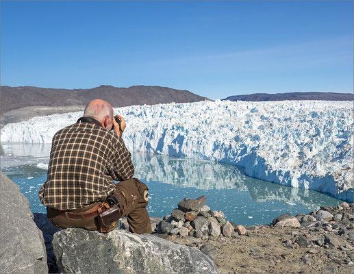 Eqi - Wanderung zum Gletscher