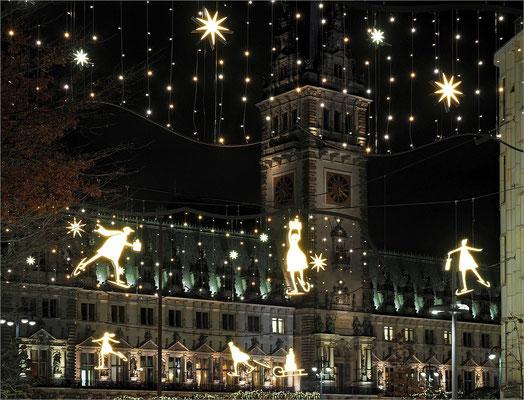 Mönckebergstraße Weihnachtsbeleuchtung
