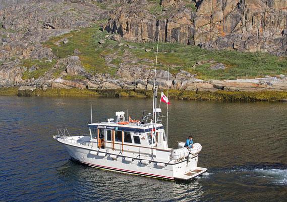 Assaqutaq - Ausflugsboot