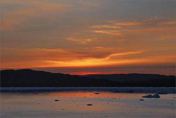 Eqi -  Sonnenuntergang