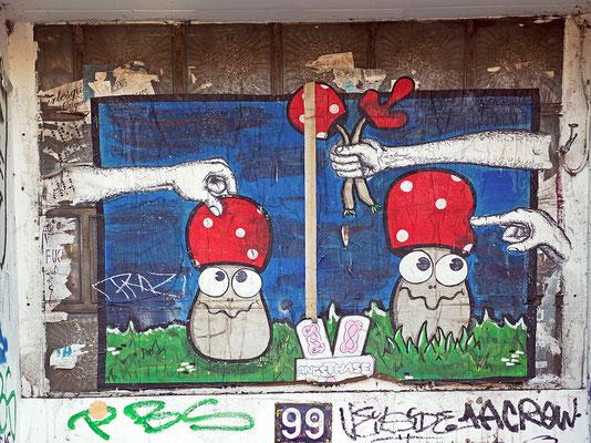 Lustige Pilze im Schanzenviertel