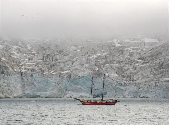 Alkefjellet Segelschiff Noorderlicht