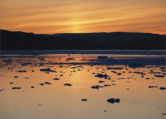 Eqi - Gletscher Sonnenuntergang
