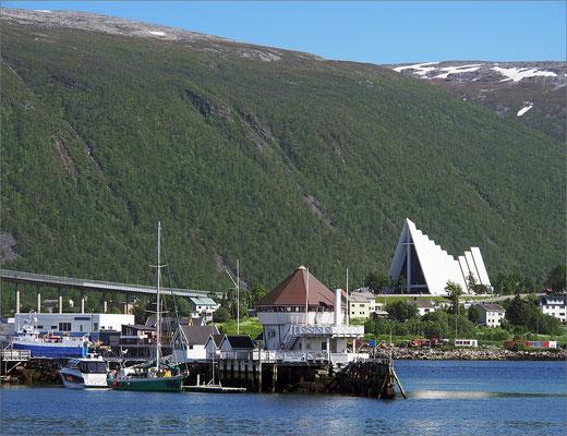 Norwegen Tromsø Eismeerkathedrale (2015)