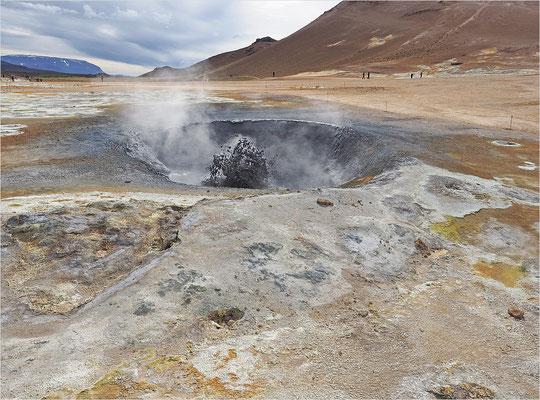 Island - Geothermalfeld Námaskarð (2016)