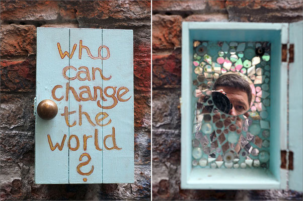 Who can change the world? - Gängeviertel