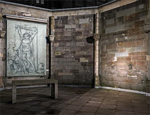 Mahnmal St. Nikolai - Mosaik Ecce Homo