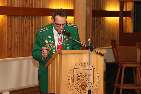 Kassenbericht 2018 des Schatzmeisters Karsten Schridde mit Aussprache