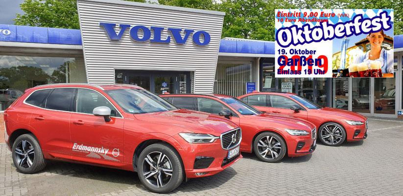 Unsere Vorverkaufsstelle in Groß-Hehlen: VOLVO Autohaus Erdmannsky GmbH, Bürgermeister-Heine-Straße 3, 29229 Celle-Groß-Hehlen