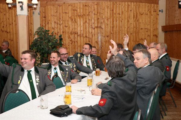 Mitgliederversammlung Schützenverein Garßen e. V. von 1891