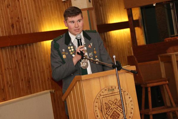 Jahresrückblick des Jugendsprechers Fabian Stradtmann